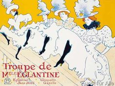 Henri de Toulouse-Lautrec - Eglantine