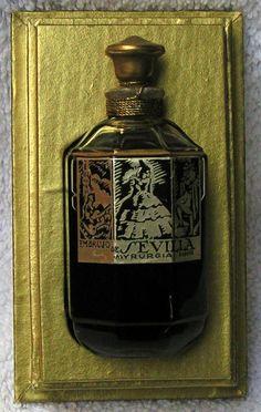c1933 Sealed Bottle MYRURGIA Perfume *EMBRUJO DE SEVILLA* Original VINTAGE Box | eBay