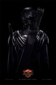 """Jennifer Lawrence nos pôsteres do filme """"Jogos Vorazes: A Esperança – Parte 1″ http://cinemabh.com/imagens/jennifer-lawrence-nos-posteres-do-filme-jogos-vorazes-a-esperanca-parte-1"""