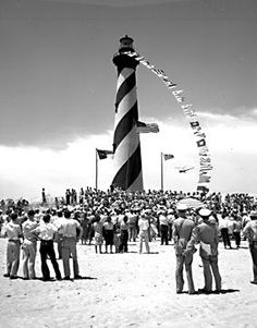 Do you remember the Cape Hatteras Lighthouse before the move?....yes (: