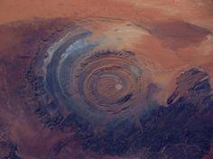 Eye of the Sahara - Flickr/Daniel Oines