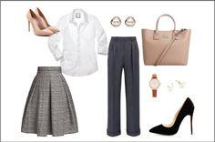 Las prendas y accesorios que necesitas para armar outfits más formales. Preppy, Hair Beauty, Polyvore, Clothes, Fashion, Office Clothing, Accessories, Outfits, Moda