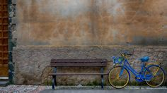 Quick Shot: Blue Bike — Scenic Traverse Photography