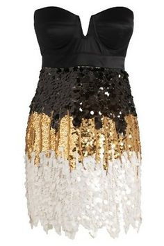 Lipsy Vip Bustier Sequin Dress-the perfect New Years dress Nye Dress, Sequin Dress, Dress Me Up, Party Dress, Pink Sequin, Party Gowns, Love Fashion, Fashion Beauty, Womens Fashion