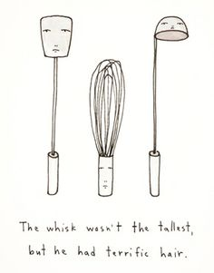 Ohh Deer - The Whisk Wasn't The Tallest But He Had Terrific Hair - Gravure d'art format A3