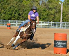 Carry Decash At Her 1st NBHA District Show In 2016 Won The 3D