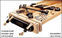 Veritas® Twin-Screw Vise - Lee Valley Tools