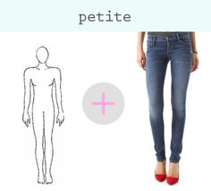 how to find the perfect jeans for your figure if you are petite
