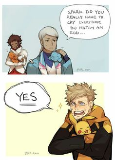 Spark is so cute I think he is a great Dadymon