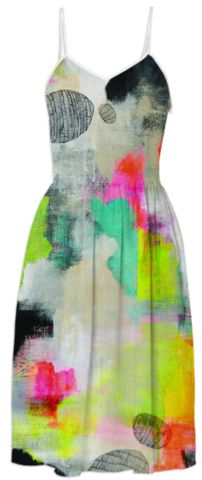 Stillness Summer Dress created by lisacongdon | Print All Over Me