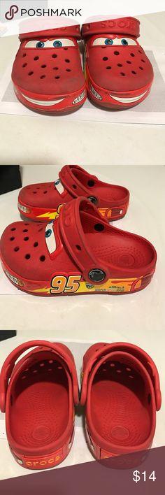 Crocs cars Lightning in dark... Awesome!! CROCS Shoes Sandals & Flip Flops
