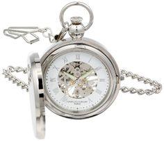 Charles Hubert 3850 Mechanical Picture Frame Pocket Watch | MyPointSaver