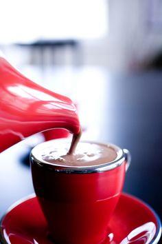 hot chocolate=love