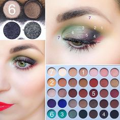 Mineral makeup is the newest thing and it's based on the earliest things. As an all-natural makeup, these mineral-containing makeups are being touted as something that can in fact assist your skin. Jaclyn Hill Eyeshadow Palette, Morphe Eyeshadow, Makeup Palette, Eyeshadow Makeup, Makeup Cosmetics, Best Mac Makeup, Diy Makeup, Makeup Inspo, Makeup Inspiration