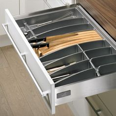 Storage Organizers Such As Wire Tray Dividers For Baking Sheets And Cutting  Boards, Spice Drawer