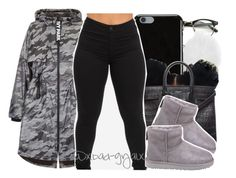 """$$$"" by xbad-gyalx ❤ liked on Polyvore featuring Michael Kors, Givenchy, Yves Saint Laurent, Topshop and UGG"