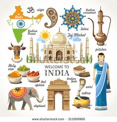 Image result for welcome to india clipart
