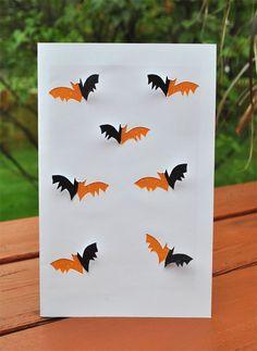 halloween bat card