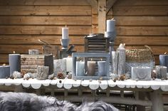 www.loods5.nl Seasons Of The Year, Rustic Christmas, Backyard, Candles, Table Decorations, Furniture, Nice Things, Home Decor, Winter