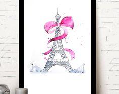 Paris Eiffel Tower/illustration / wall Decor / home decoration/fashion Paris Eiffel Tower, Wall Decor, Unique Jewelry, Handmade Gifts, Decoration, Illustration, Shop, Etsy, Vintage