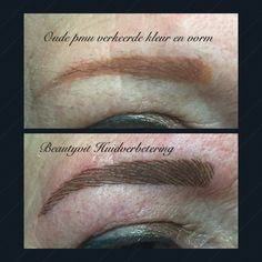 Foute pmu elders gezet. Verkeerde kleur en vorm. Kijk op onze website voor uitgebreide informatie. http://www.beautyvit.nl/Specials/Permanente-make-up/