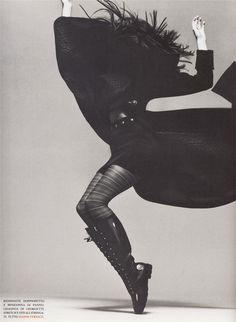 Stephanie Seymour | Richard Avedon | Vogue Italia July 1993