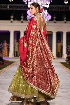 A classic anarkali silhouette in a hand woven tile jacquard fabric. Pakistani Dresses Casual, Pakistani Wedding Outfits, Pakistani Bridal Dresses, Bridal Outfits, Punjabi Wedding, Dress Indian Style, Indian Dresses, Indian Outfits, Indian Clothes