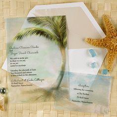 Unique invitations Ideas for a Beach Wedding-0 Quince Invitations, Affordable Wedding Invitations, Destination Wedding Invitations, Unique Wedding Invitations, Wedding Stationary, Invites, Aqua Wedding, Tree Wedding, Wedding Cards