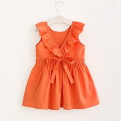 Sewing Dresses * Pleated waist<br /> * Ruffled design<br /> * Material: Cotton, Others<br /> * Machine wash, tumble dry<br /> * Imported - Toddler Flower Girl Dresses, Baby Girl Dress Patterns, Little Girl Dresses, Baby Dress, Girls Dresses, Flower Girls, Baby Girl Fashion, Kids Fashion, Fashion Outfits