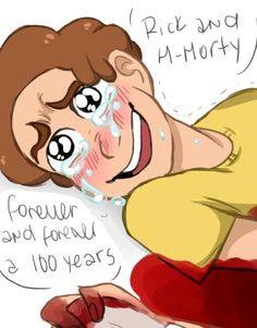 14/25 Rick and Morty sad comic