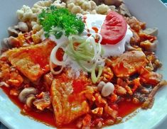Fish Recipes, Thai Red Curry, Dinner, Cooking, Ethnic Recipes, Food, Red Peppers, Dining, Kitchen