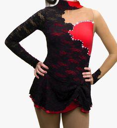 Custom Figure Skating Dress by SkatingDressesByKim on Etsy, $168.99
