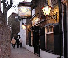 Situated in the West London neighborhood of Hammersmith, the Dove dates back to the 17th century and has warmed bellies of the likes of Ernest Hemingway. This is a quaint lil' spot that should tempt you out for a stroll along the adjacent river.