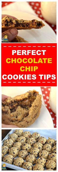 PERFECT CHOCOLATE CHIP COOKIES TIPS Achieving that beautiful, perfectly baked chocolate chip cookie, has taken me decades of practice. So I wanted to pass along my Perfect Chocolate Chip Cookies Tips and easy steps after hundreds of batches of cookies. Everyone loves Chocolate chip cookies but they can difficult for some bakers to master. With just one little change to the recipe or baking time, the perfect chocolate chip cookie can come out of the oven with disappointment. SEE STEPS, TIPS…