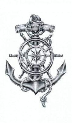 coolTop Tattoo Trends - Tattoodo tattoo artist RadeCupo: I'm a painter and i. - New Tattoo Trend Anker Tattoo Design, Compass Tattoo Design, Sketch Tattoo Design, Tattoo Sketches, Tattoo Drawings, Tattoo Designs, Anchor Compass Tattoo, Anchor Thigh Tattoo, Compass Drawing