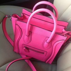 Hello gorgeous pink Celine bag
