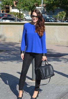 #outfit #blue