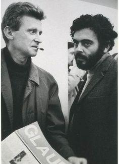 Jean-Marie Straub and Glauber Rocha.