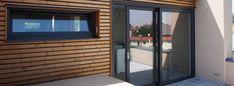 Dřevěné fasádní profily a palubky pro fasády ze dřeva ThermoWood
