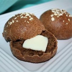 Steakhouse Black Bread ~ Uses strong brewed black coffee along with molasses, & a combination of bread flour, whole wheat, & rye flour. *This recipe is for a bread machine, but could just as easily by made by hand.