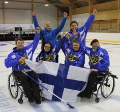Norway and Finland qualify for 2013 World Wheelchair Curling Championship