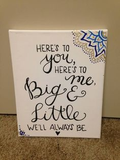 Image result for here's to you here's to me big and little we'll always be