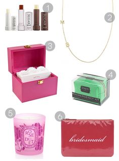 Something for the Ladies: Bridesmaid Gift Ideas