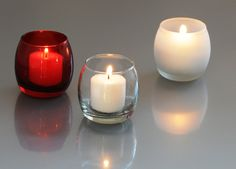 Budget Wedding? Here is a great way to save money on decoration for the reception. Sold in bulk: 72 votive candles holders + the candles for less than $55.00.