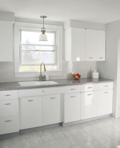 Kitchen, 1950's, Metal cabinets, Refinished, Youngstown | Cabinet ...