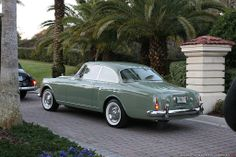 1962 Bentley S2 Continental H.J. Mulliner Sports Saloon
