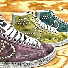 #nikeblazer #color #studs #handmade with love by #muffin! #sneakers #muffinonline #muffinshop_it www.muffinshop.it