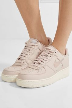 38d8592103f Nike - NikeLab Air Force 1 leather sneakers