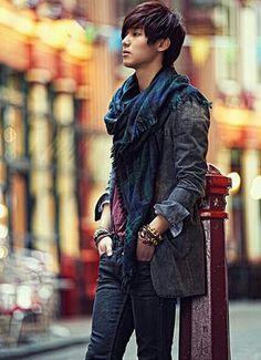 Kang Min Hyuk, I really like this outfit