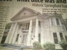 Historic home in Springfield